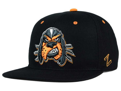 Tennessee Volunteers Zephyr NCAA Triple Black Snapback Hat