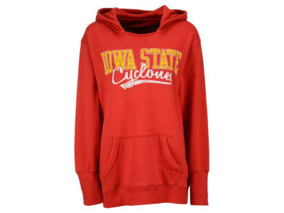 Iowa State Cyclones NCAA Women's Curves Plus Size Pullover Hoodie