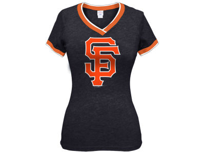 San Francisco Giants 5th & Ocean MLB Women's LE Triple Flock T-Shirt