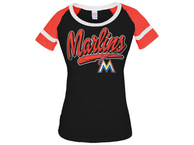 Miami Marlins 5th & Ocean MLB Women's Homerun T-Shirt