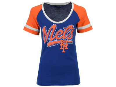 New York Mets 5th & Ocean MLB Women's Homerun T-Shirt