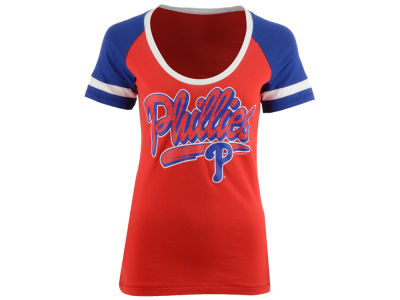 Philadelphia Phillies 5th & Ocean MLB Women's Homerun T-Shirt