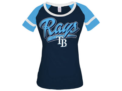 Tampa Bay Rays 5th & Ocean MLB Women's Homerun T-Shirt
