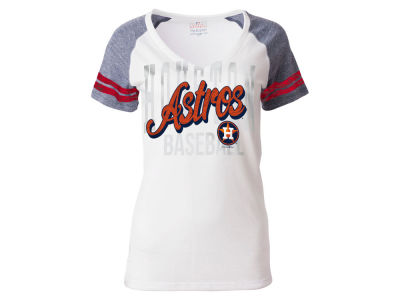 Houston Astros 5th & Ocean MLB Women's White Hot T-Shirt