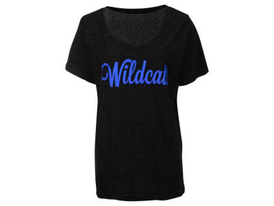 Kentucky Wildcats NCAA Women's Curves Glitter Short Sleeve Plus Size T-Shirt