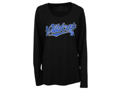 Kentucky Wildcats NCAA Women's Curves Long Sleeve Plus Size T-Shirt