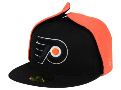 Philadelphia Flyers New Era NHL Team Dog Ear 59FIFTY Cap