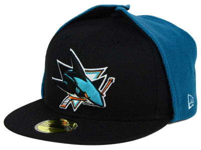 San Jose Sharks New Era NHL Team Dog Ear 59FIFTY Cap