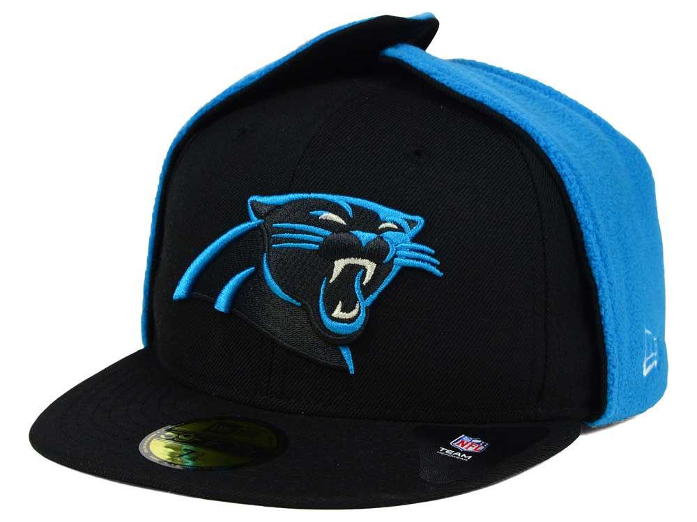 Carolina Panthers New Era NFL Team Dog Ear 59FIFTY Cap  298d19456a37