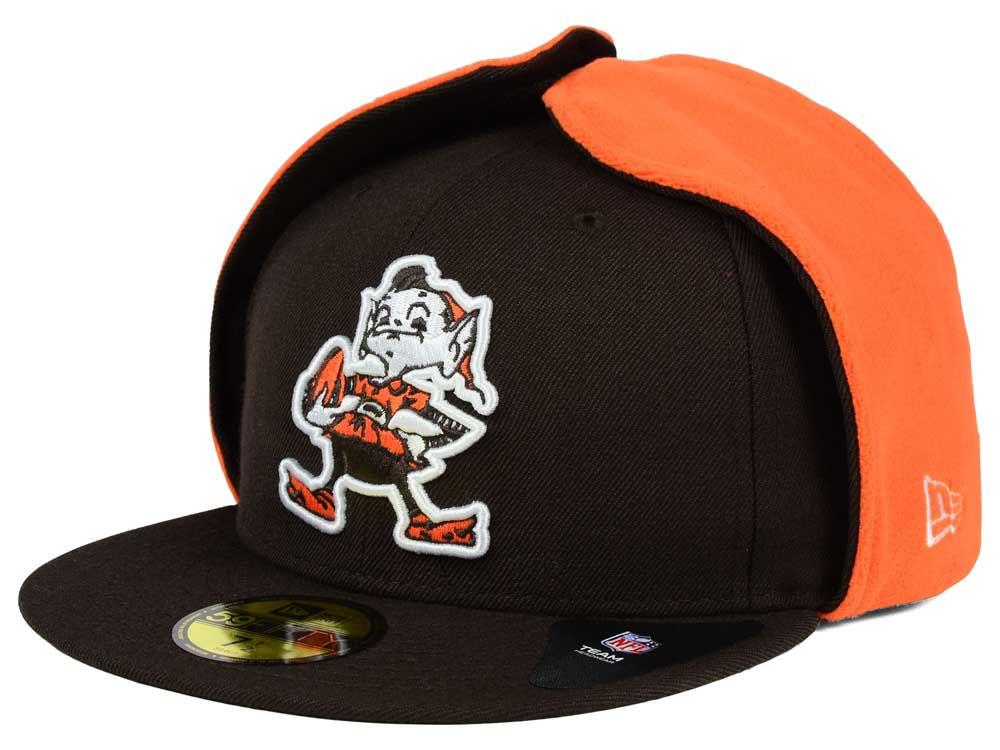 03d3e95d08e Cleveland Browns New Era NFL Team Dog Ear 59FIFTY Cap