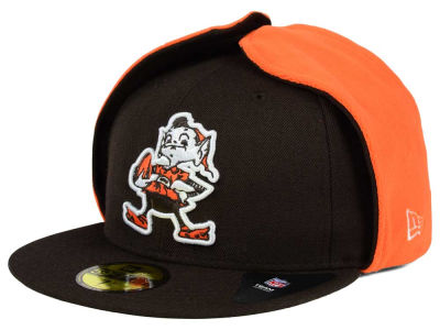 Cleveland Browns New Era NFL Team Dog Ear 59FIFTY Cap