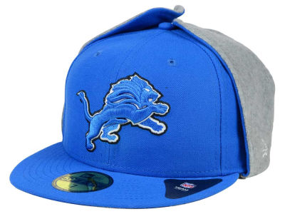 Detroit Lions New Era NFL Team Dog Ear 59FIFTY Cap