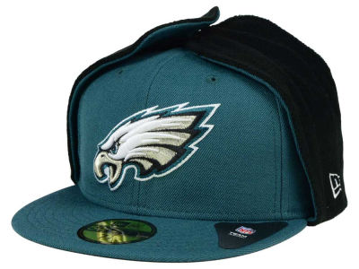 Philadelphia Eagles New Era NFL Team Dog Ear 59FIFTY Cap