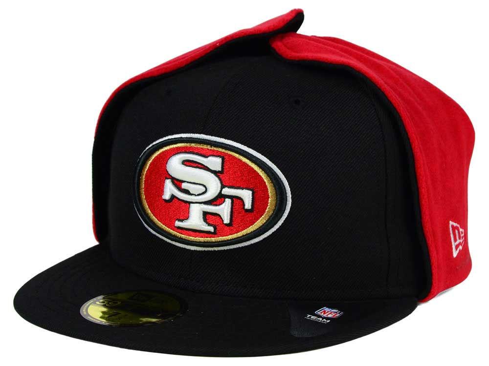 bb5932a71a1 San Francisco 49ers New Era NFL Team Dog Ear 59FIFTY Cap