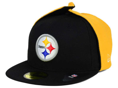 Pittsburgh Steelers New Era NFL Team Dog Ear 59FIFTY Cap