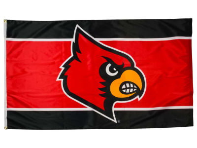 Louisville Cardinals 3x5ft Flag