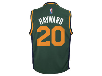 Utah Jazz Gordon Hayward Youth NBA Revolution 30 Jersey