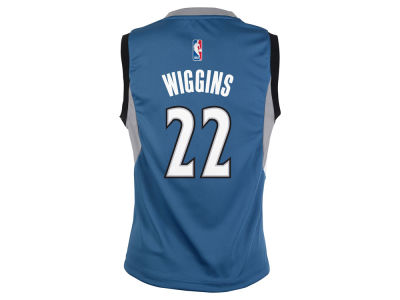 Minnesota Timberwolves Andrew Wiggins Youth NBA Revolution 30 Jersey