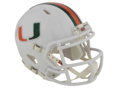 Miami Hurricanes Speed Mini Helmet