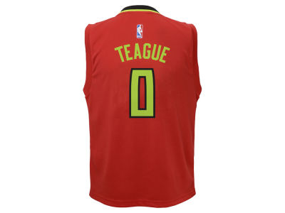 Atlanta Hawks Jeff Teague adidas NBA Youth Rev 30 Replica Jersey
