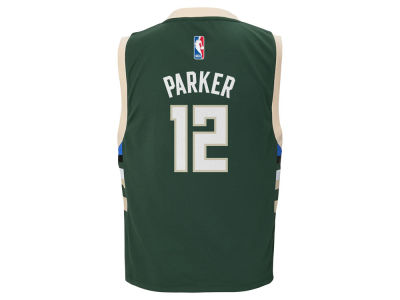 Milwaukee Bucks Jabari Parker adidas Youth NBA Revolution 30 Jersey