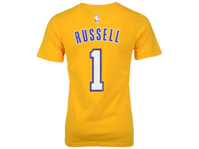 Los Angeles Lakers D'Angelo Russell adidas NBA Men's Player T-Shirt