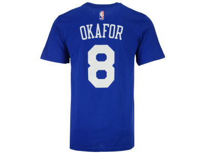 Philadelphia 76ers Jahlil Okafor adidas NBA Men's Player T-Shirt