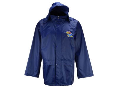 Kansas Jayhawks G-III Sports NCAA Men's Clutch Hit Hooded Rain Jacket