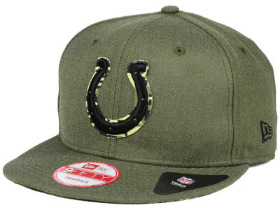 Indianapolis Colts New Era NFL Sgt Patch 9FIFTY Snapback Cap