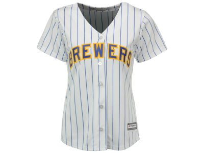 Milwaukee Brewers MLB Women's Cool Base Jersey