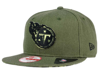 Tennessee Titans New Era NFL Sgt Patch 9FIFTY Snapback Cap