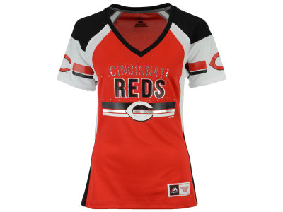 Cincinnati Reds MLB Women's Draft Me T-Shirt