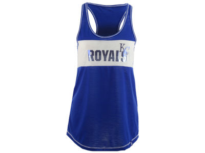 Kansas City Royals Majestic MLB Women's Gametime Glitz Tank