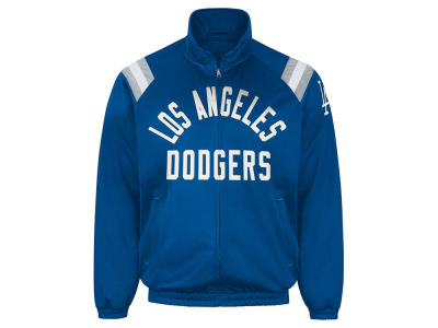 Los Angeles Dodgers GIII MLB Men's Coop Centerfield Full Zip Track Jacket