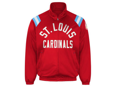 St. Louis Cardinals GIII MLB Men's Coop Centerfield Full Zip Track Jacket