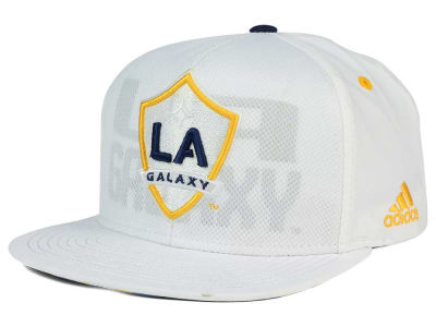 LA Galaxy adidas MLS Authentic Team Snapback Cap