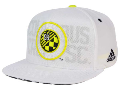 Columbus Crew SC adidas MLS Authentic Team Snapback Cap