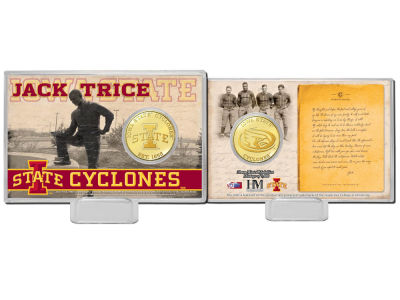 Iowa State Cyclones Jack Trice Coin Card