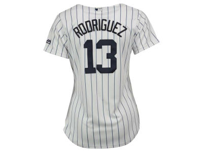 New York Yankees Alex Rodriguez Majestic MLB Women's Cool Base Player Replica Jersey