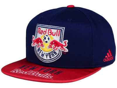 New York Red Bulls adidas MLS Skyline Snapback Cap