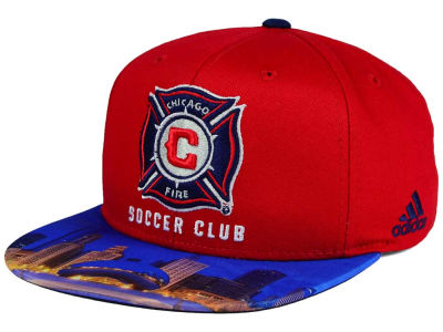 Chicago Fire adidas MLS Skyline Snapback Cap