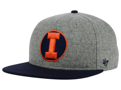 Illinois Fighting Illini '47 NCAA '47 Mirra Snapback Cap