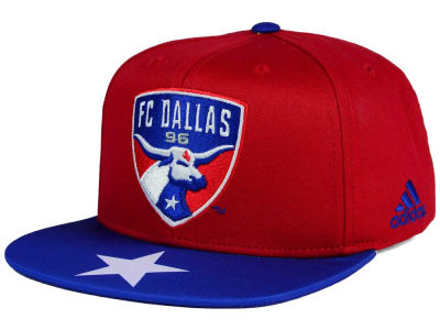 FC Dallas adidas MLS Skyline Snapback Cap