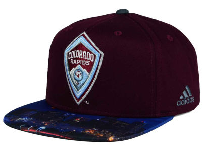 Colorado Rapids adidas MLS Skyline Snapback Cap