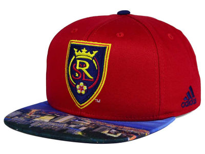 Real Salt Lake adidas MLS Skyline Snapback Cap