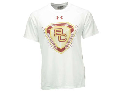 Boston College Eagles Under Armour NCAA Men's Shamrock Series Diamond T-Shirt