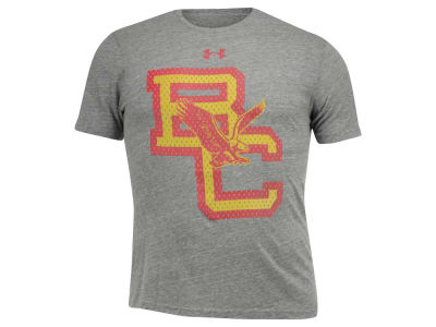 Boston College Eagles Under Armour NCAA Men's Mesh Baldwin Letters Logo T-Shirt