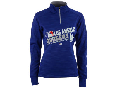 Los Angeles Dodgers MLB Women's AC Quarter Zip Pullover Shirt