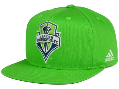 Seattle Sounders FC adidas MLS XL Basic Snapback Cap