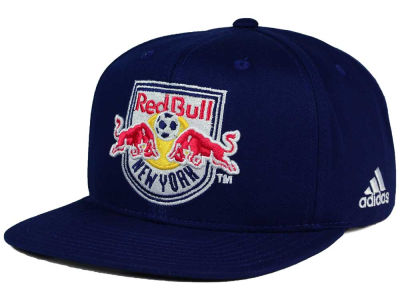 New York Red Bulls adidas MLS XL Basic Snapback Cap